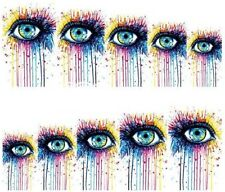 Nail Art Decals Transfers Stickers The Eyes Have It (A-134)