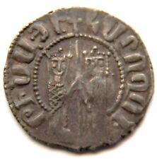 Armenia,Hetoum / Zabel(1226-1271),Silver,K ing/Queen,Cross/Lion,Armen ian Cilician