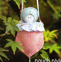 PATTERN - Pouch Pixies - cute softie doll PATTERN from May Blossom