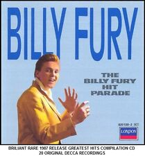 Billy Fury - The Very Best 20 Greatest Hits Collection RARE CD 50's 60's