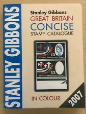 Stanley Gibbons Great Britain Concise Stamp Catalogue 2007 lightly marked