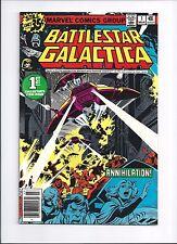 Battlestar Galactica #1 (Mar 1979, Marvel) 1st Print New Stand Edition