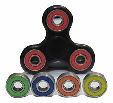 Spinner Fidget Hand Toy Stress Reducer+4 Spare color bearings/ USA SELLER