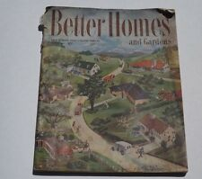 BETTER HOMES U0026 GARDENS MAGAZINE   March 1947   Great Vintage Ads U0026 Articles!