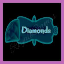 🦋 Virtual Currency 🦋 Diamonds (100k, 250k, 500k) 🦋 Royale High RH Roblox