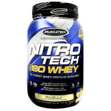 Muscletech Nitro-Tech 100% ISO Whey Protein Isolate 1.81 lb, 29 Servings VANILLA