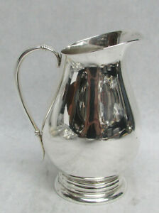 "INTERNATIONAL ROYAL DANISH STERLING SILVER 4"" CREAMER"