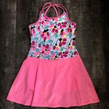 Gymboree  Girls Tennis Dress Large 10-12 F Skort - Swim Dress Pink