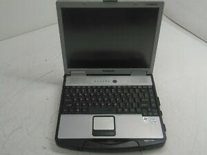 """Panasonic Toughbook CF-74 13.3"""" Laptop Core Duo 2GHz 2GB 0HD Boots No PSU"""