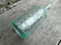 Vintage Green Glass Bottle - Elliman's Slough - Royal Embrocation For Horses