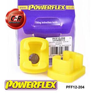 PFF12-204 Powerflex For Citroen C3 Pluriel (2003 - 2010) Lower Engine Mnt Insert