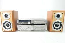 Technics HD55 Hifi Stereo Anlage CD Tuner Amplifier Cassette Deck Boxen Hi-1691
