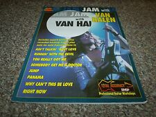 Jam With Van Halen Guitar Tablature Notation Chords Professional Workshops No CD