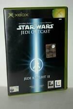 STAR WARS JEDI OUTCAST JEDI KNIGHT II USATO XBOX EDIZIONE ITALIANA PAL GD1 40071