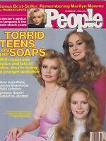 OCT 27 1980 PEOPLE magazine (UNREAD - NO LABEL) - MARILYN MONROE - SOAP OPERAS