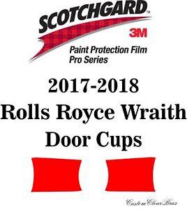 3M Scotchgard Paint Protection Film Pro Series 2017 2018 Rolls Royce Wraith