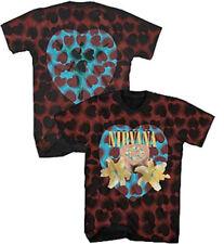Nirvana-Heart Shaped Box-Small Tie Dye T-shirt