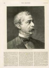 1873-antiguo retrato de impresión Sir Richard Wallace coleccionista de arte Baronet (044)