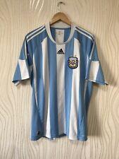 ARGENTINA 2010 2011 HOME FOOTBALL SHIRT SOCCER JERSEY ADIDAS