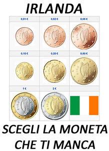 1 CENT - 2 EURO IRLANDA IRLAND IRLANDE 2002 - 2013 SPL CIRC.