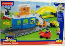 Fisher-Price Little People Airport Playset Airplane 3 Doll 3 Car Target NEW 2010
