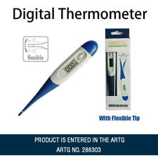 ChoiceMMed MDT100 Digital Thermometer - White/Blue