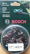 "savers - GENUINE Bosch AKE40 17"" Chainsaw Chain F016800258 3165140396479 D"