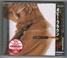 Sealed BOBBY BROWN Forever JAPAN CD MVCE-24053 w/OBI+PROMO STICKER Free S&H/P&P