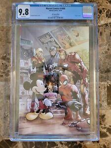 Marvel Comics #1000 CGC 9.8 D23 DISNEY VARIANT 🔥🔥🔥