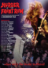 Murder in The Front Row The San Francisco Bay Area Thrash Metal Story DVD 2020