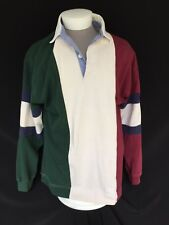 Original Mickey Inc. Mickey Mouse Long Sleeve Rugby Polo Shirt – XL