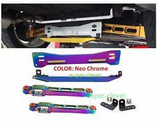 Rear Lower Control Arm Subframe Brace Tie Bar for Mitsu Mirage Proton Neo Chrome