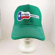 be hippy Lone Star Guitar Ouray Sportswear Green & White Mesh Trucker Ball-Cap