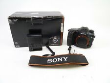 Sony A99 with a Shutter Count of 78,006, Battery, Charger, Cap, Strap, and in EC
