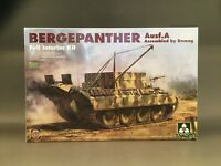 TAKOM 2101 1/35 Bergepanther Ausf. A Assembled by Demag full interior