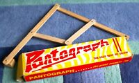 VINTAGE 1960'S WOODEN PANTOGRAPH - THE GREAT CREATIVE TOY- VGC!