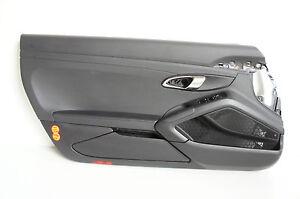Porsche 991 Door Panelling Vl Leather Black 99155520374