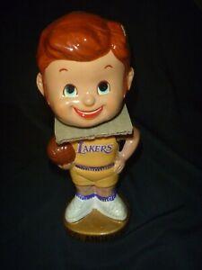 ~Vintage~ 1960's L.A. Lakers Basketball NIB Bobblehead Mint! Japan