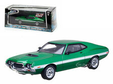 "FENIX'S 1972 FORD GRAN TORINO GREEN ""FAST & FURIOUS"" MOVIE 1/43 GREENLIGHT 86218"