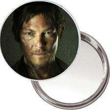 Neuf Unique Bouton Miroir. Image de Daryl Dixon / Norman Reedus The Walking Dead