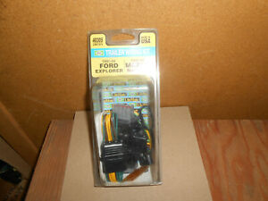 Trailer Plug-In Simple Kit Hopkins 40305 Ford Explorer, Mazda Navajo  Free Ship
