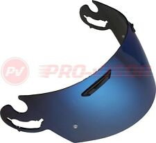 BLUE IRIDIUM VISOR FITS ARAI L-TYPE RX7 CORSAIR DRILLED AND PREPARED FOR PINLOCK
