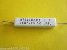 RESISTOR 5,1 OHM 10W 5% FLAMEPROOF(1 ITEM)