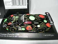 Minichamps 1:43 400 036856 GUNNAR-PORSCHE G99 GT1 #6 Barber Park GRAND AM 2003