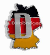 1 - NEW Jetta Audi vw Bmw german flag motorsports badge emblem GERMANY COUNTRY D