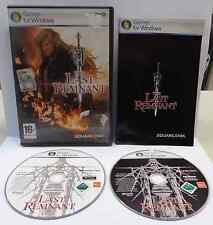 Gioco Game Computer PC DVD-ROM ING Manuale ITA THE LAST REMNANT SQUARE ENIX