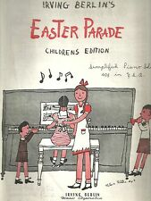 Irving Berlin's EASTER PARADE Children's Edition (1945)
