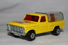 MATCHBOX SUPERFAST #57 WILD LIFE TRUCK, TINTED BEDCOVER, EXCELLENT, LOT B