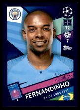 Topps Champions League 2018/19 - Fernandinho Manchester City FC No. 165