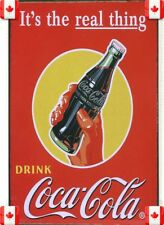 20X30cm Tin Metal Sign COCA-COLA SOLD HERE VINTAGE GARAGE CAFE BAR PUB  Wall 029